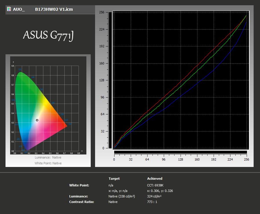 xRite-ASUS G771J