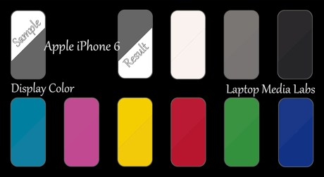 E-DisplayColor-Apple iPhone 6