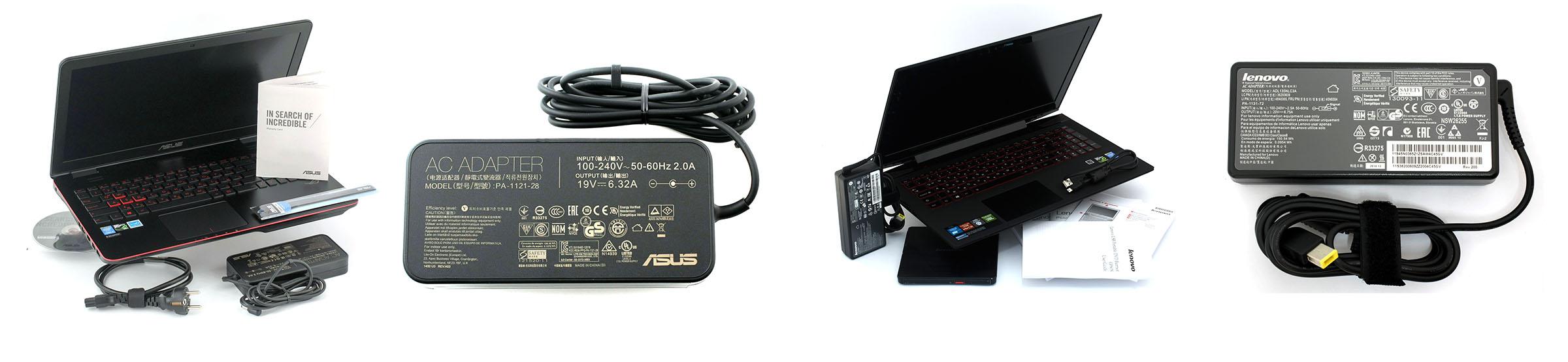 G551J LenovoY50 package ASUS ROG G551JW