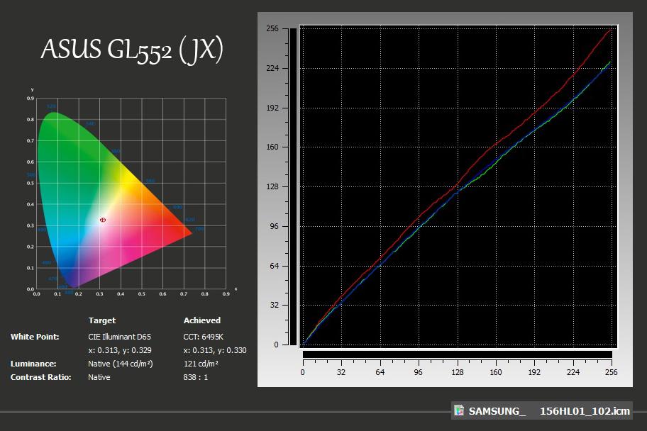 xRite-ASUS GL552 (JX)
