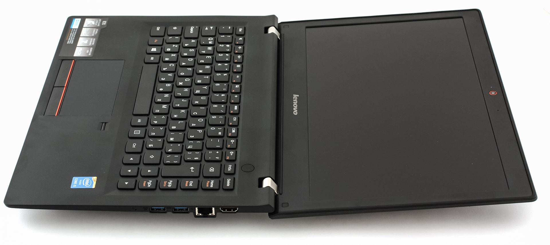 Notebook samsung kualitas - Lenovo E31 Wide Open