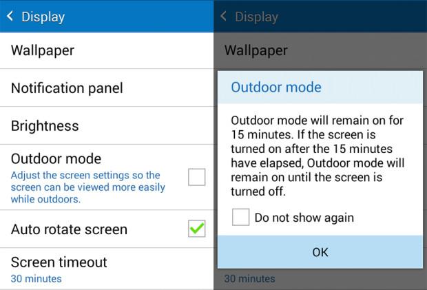 DisplayMode-Samsung Galaxy J1