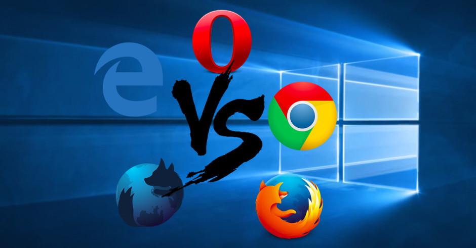 The best browser for Windows 10 (Chrome vs Firefox vs Edge vs