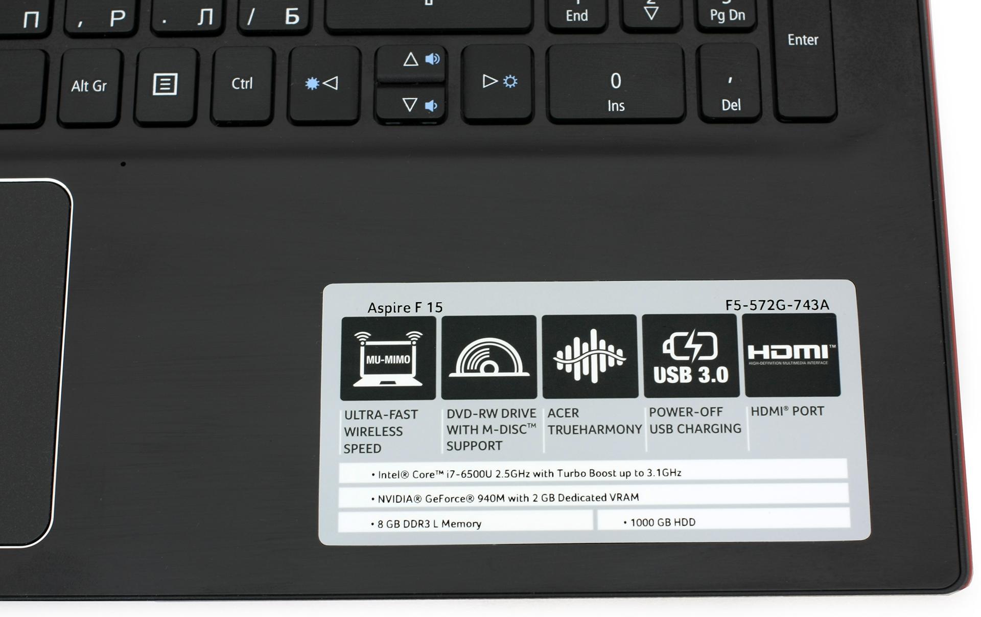 Acer Aspire F5-572G Treiber Windows 7