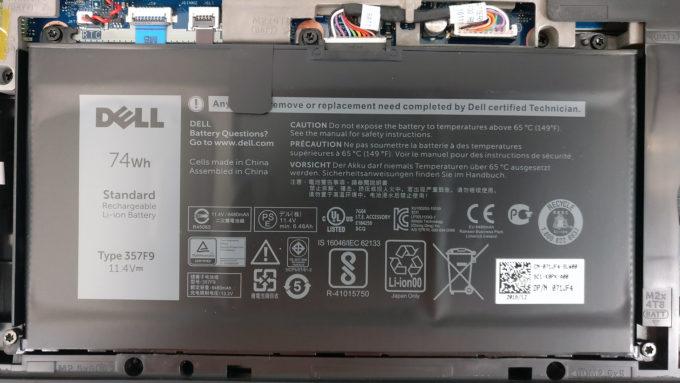 Bước 3 : Các bạn xem hình cục pin và quan sát xem mã modell của pin phải là 357F9 không nhé.
