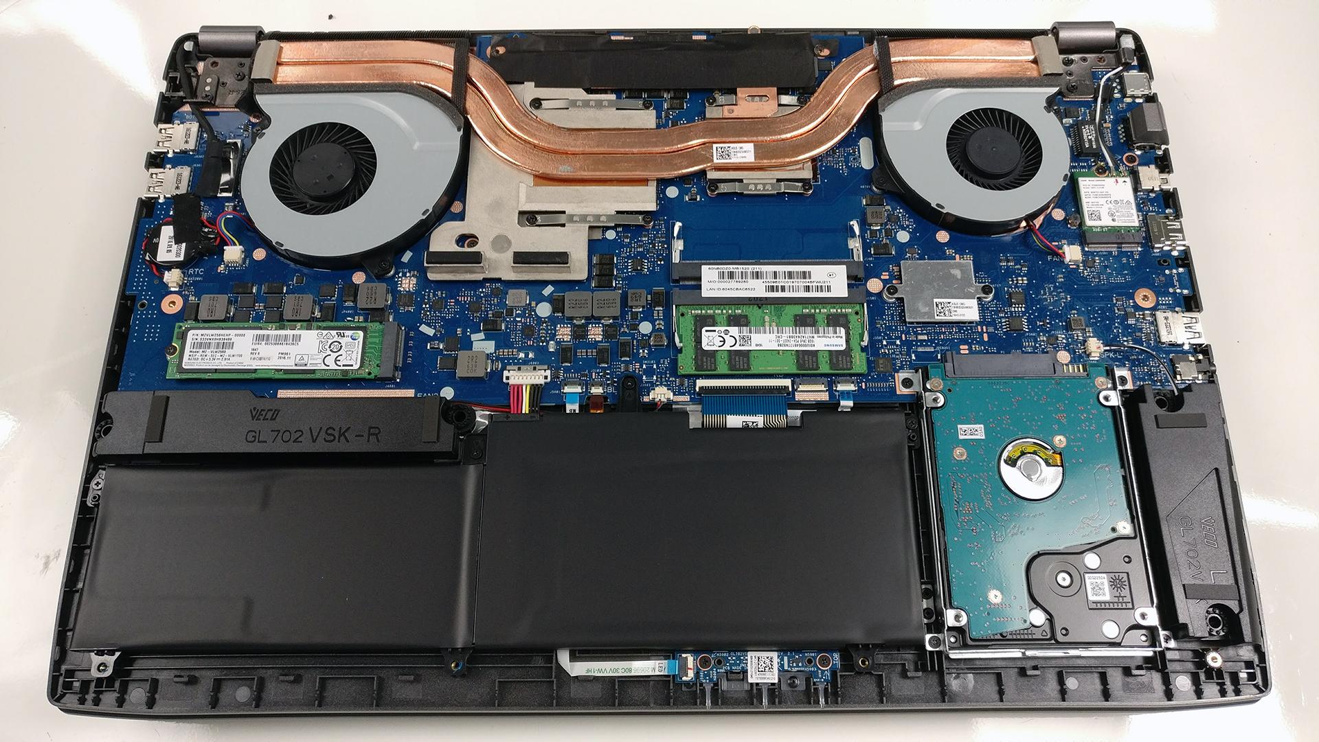 Image result for gl502vs motherboard