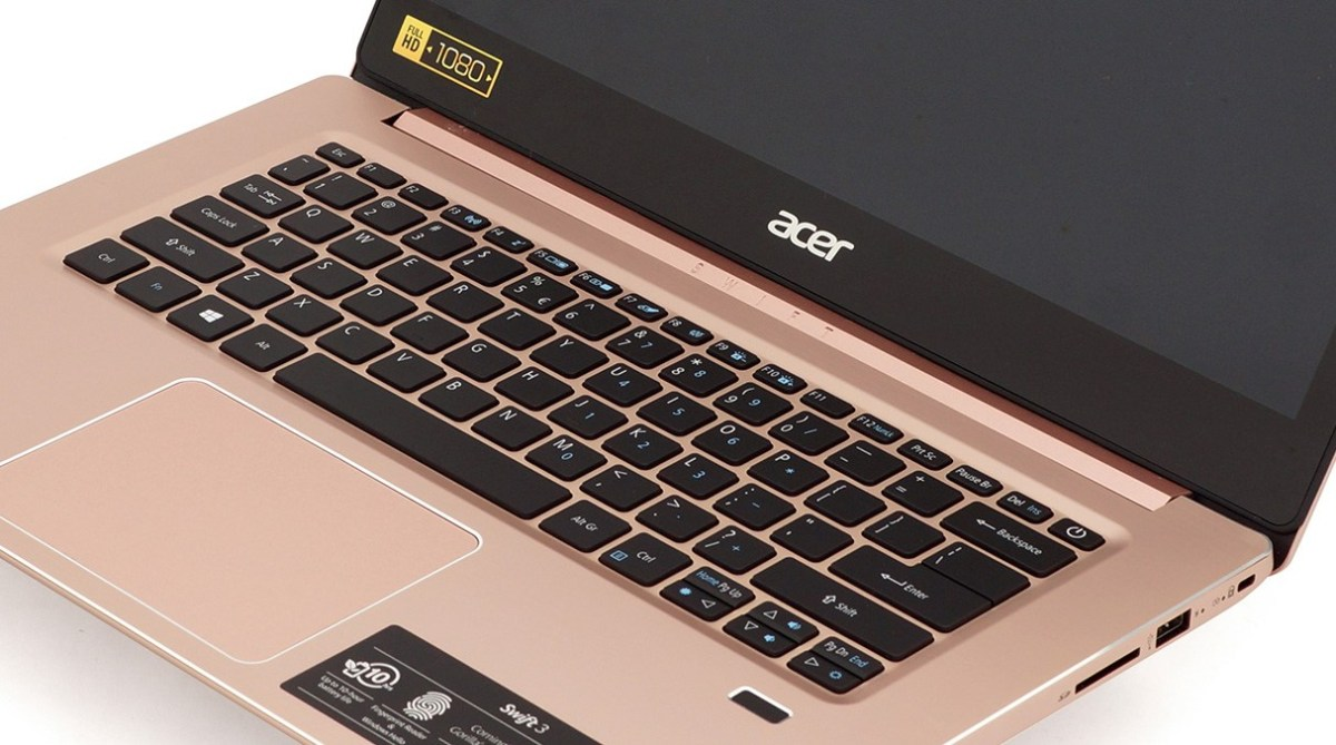 Acer Swift 3 (SF314-52G) review – aluminum jewel by Acer