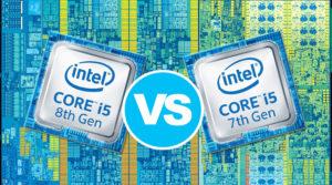 Intel Core i5-8250U vs Core i5-7200U – two generations collide
