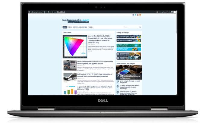 Dell Inspiron 15 5579 (Core i7-8550U) review – better