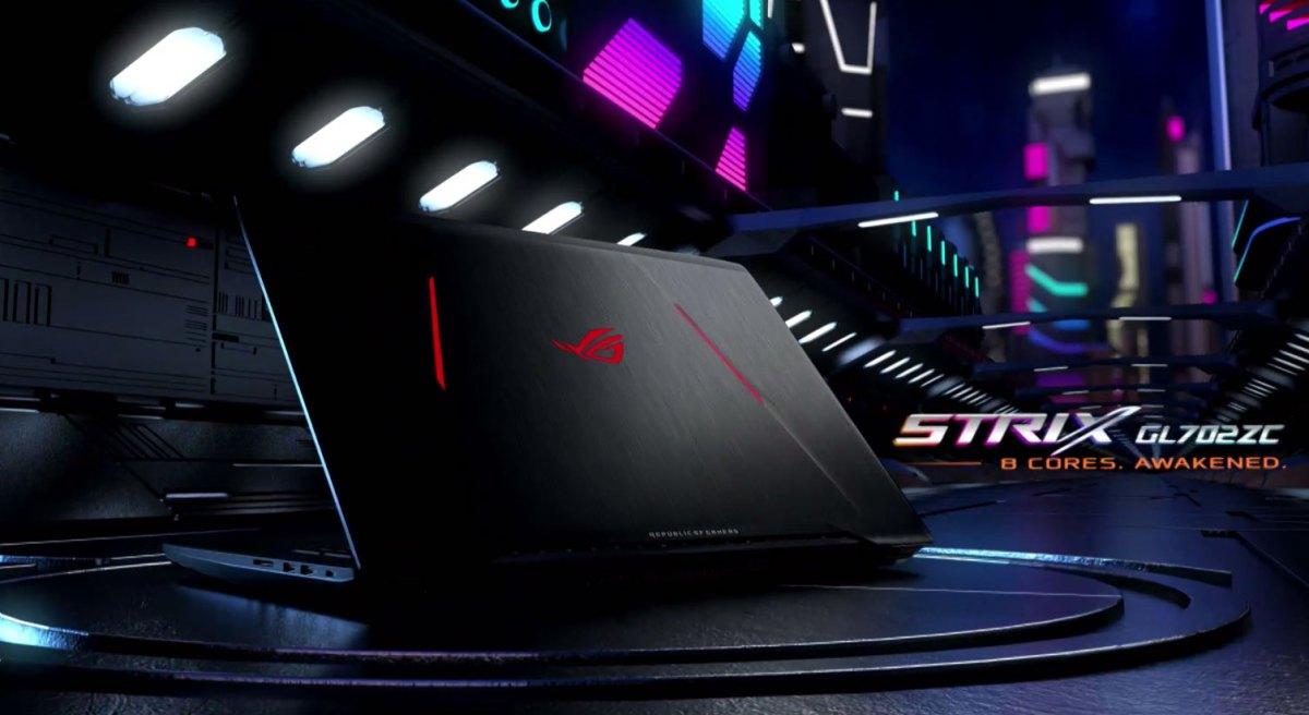ASUS ROG Strix GL702ZC (AMD Ryzen 7 1700, Radeon RX 580