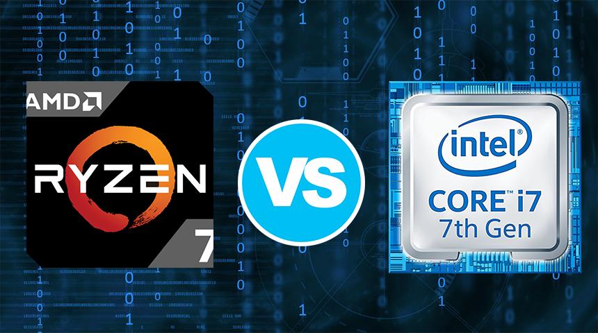 AMD Ryzen 7 2700U vs Intel Core i7-7700HQ – the new opponent