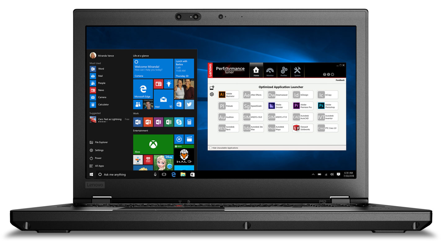Lenovo ThinkPad P52 review – workstation with brand new hardware and