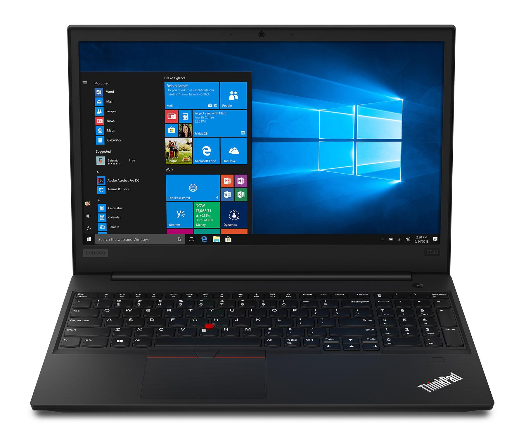 Lenovo ThinkPad E590 review – Whiskey Lake processors in