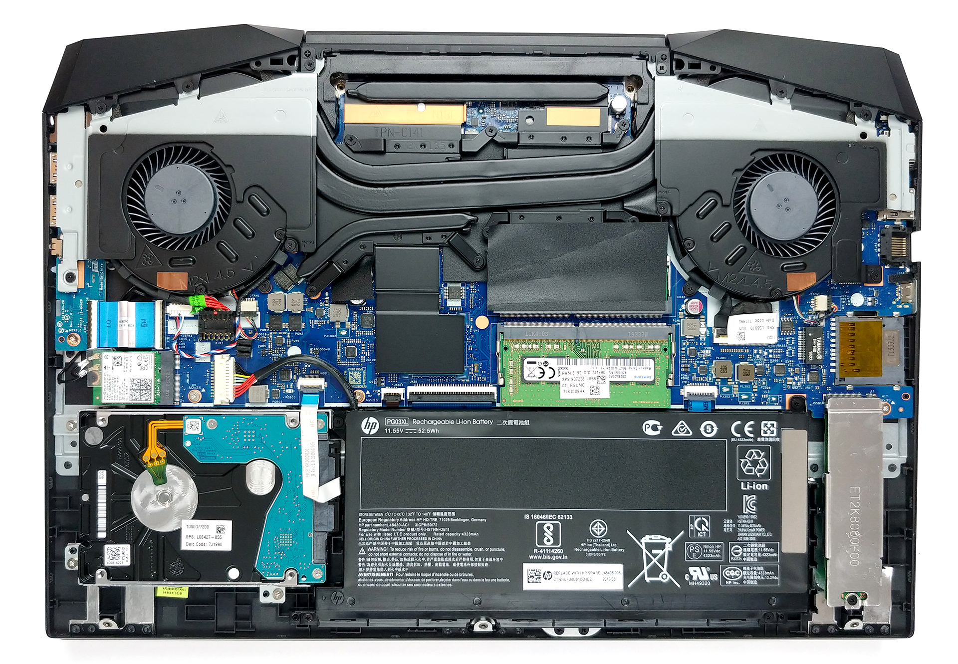 Inside Hp Pavilion Gaming 15 2019 Disassembly And Upgrade Options