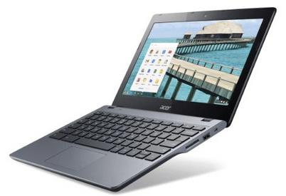 Chromebooks Acer C720 Review 2014