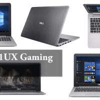 ASUS K501UX Gaming Laptop Black-Silver Metal