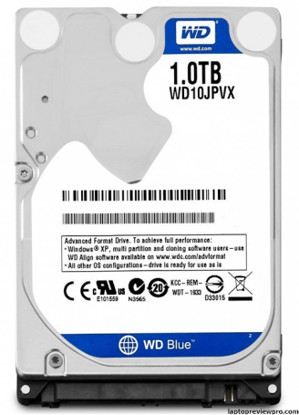 1TB 2.5 inches Internal SATA