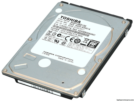 8MB Notebook Hard Drive