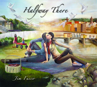 halfway there jim fusco album cover on the laptop sessions acoustic cover songs music video blog