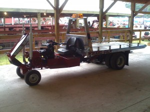 Now THIS is a custom tractor!