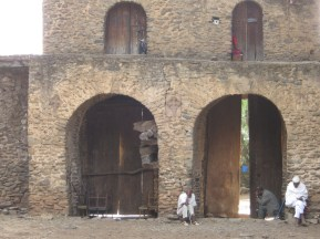 Iglesia de Debre Berhan Selassie