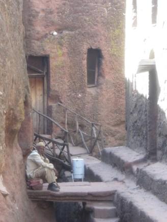 El guardián de Bet Golgotha y las iglesias de alrededor