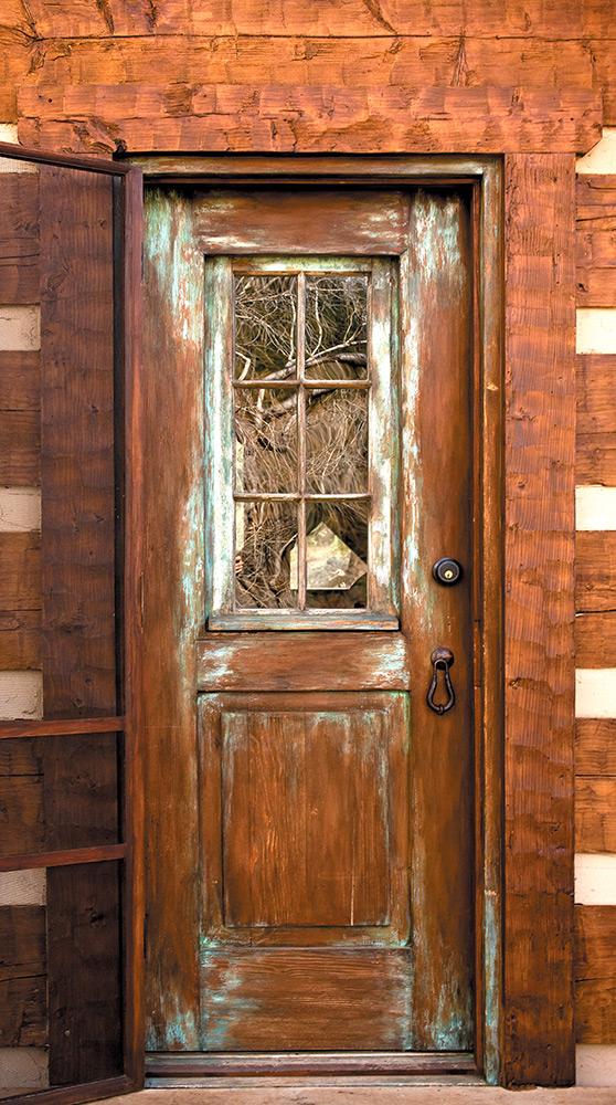 Door With Operable Shutter La Puerta Originals