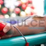 Donazione di sangue alla caserma dei carabinieri