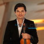 Il talentuoso violinista suonerà all'Ambra con uno strumento del 1774