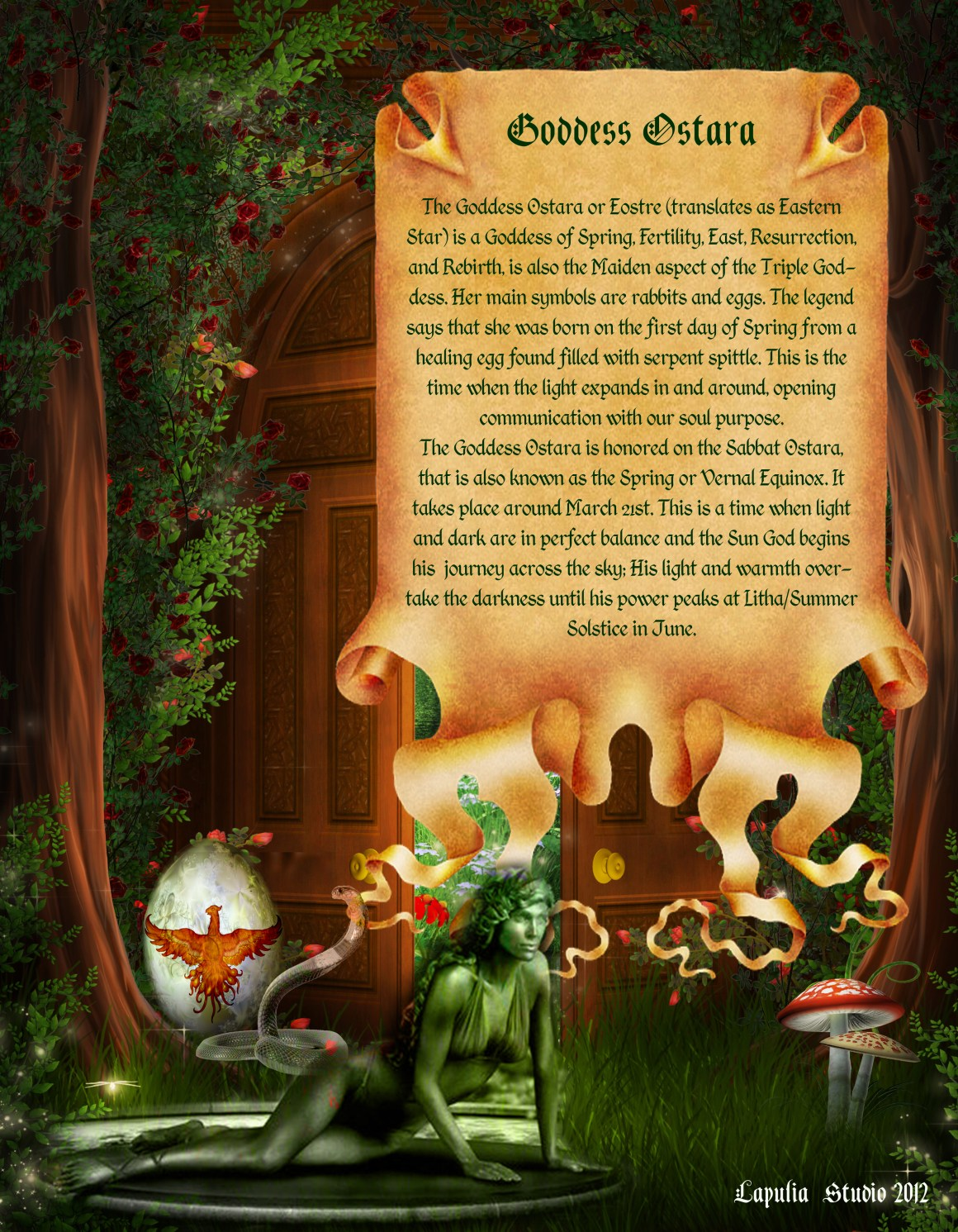 Ostara page 2 - Pagan Wiccan Holiday Information