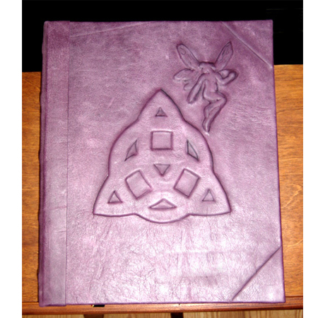 Fairy's Triquetra Book of Shadows