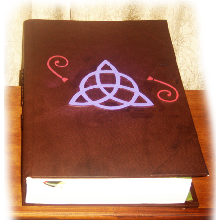 Triquetra Blessed Be Book of Shadows