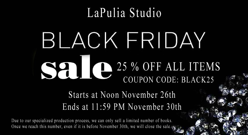 Black Friday Sale from LaPulia Book of Shadows