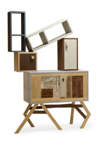 Mobile-scultura fatto a mano in legno de Laquercia21