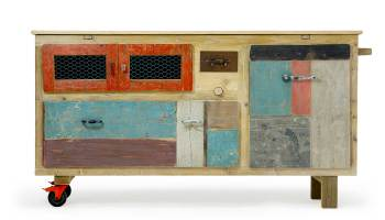 La Credenza Gas : Dal riciclo del legno alla credenza moderna laquercia21