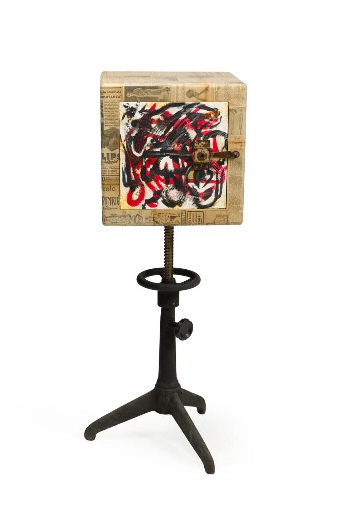 Mobile Signor Vedova. Collaborazione artista Marzia Spinetti e Laquercia21
