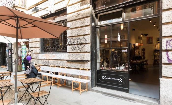 Via Corsico Milano, Nviglio Grande, Brandstorming concept store di design