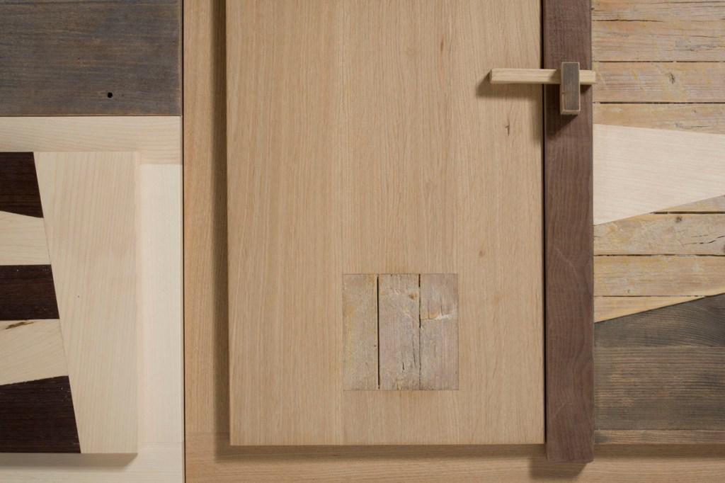 Mobile contenitore per salotto e sala da pranzo in legno