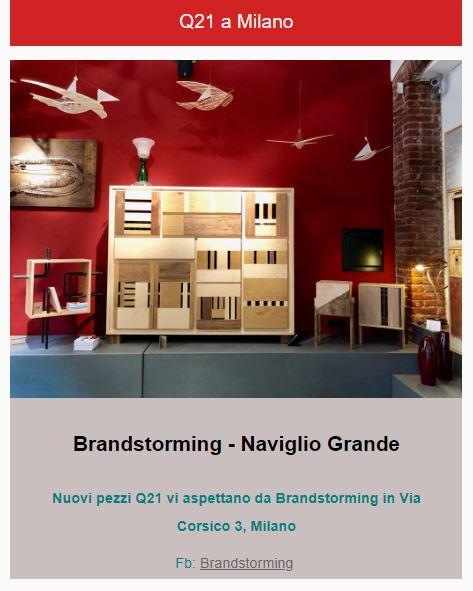 laquercia21 milano brandstorming design