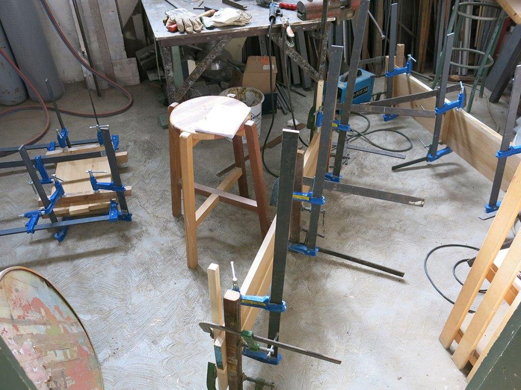 morsettaggio mobili fatti a mano contemporanei laquercia21
