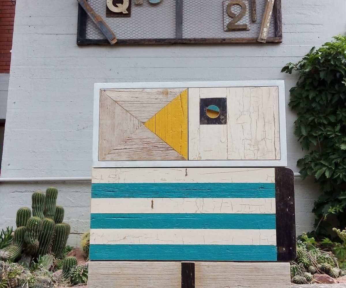 pupazzo 127 laquercia21 piccolo mobile contenitore art design