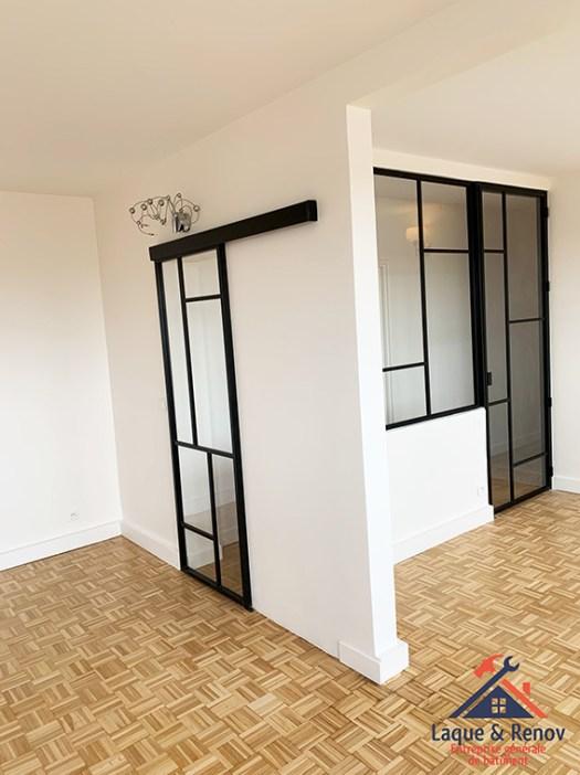 Pose de verrière et rénovation d'intérieur à Sèvres-92