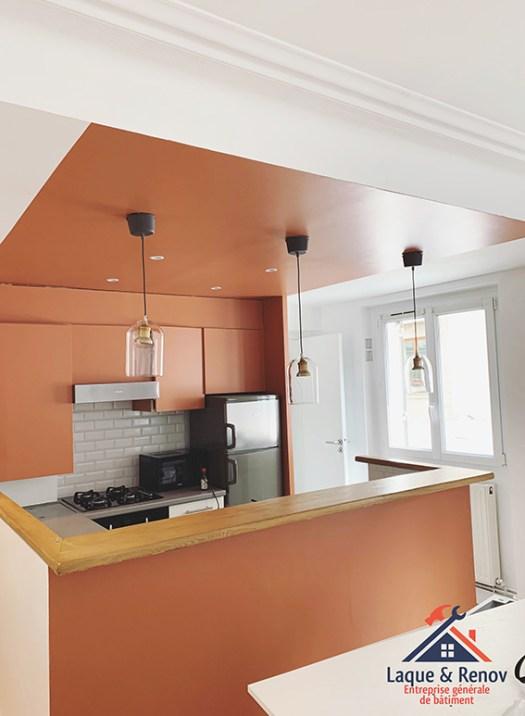 Rénovation d'une cuisine dans un appartement à Boulogne-Billancourt