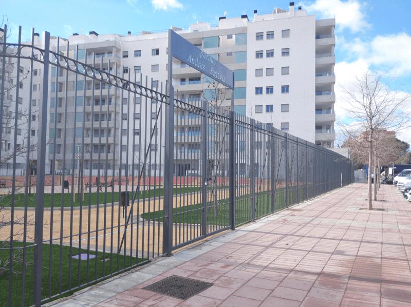 Parque Andrés Segovia Torrejón de Ardoz