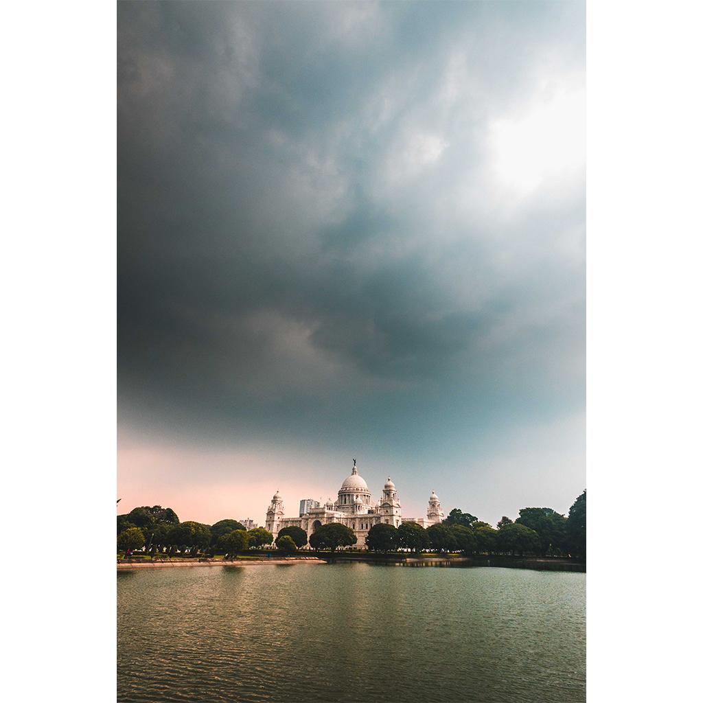 Monsoon clouds approaching.