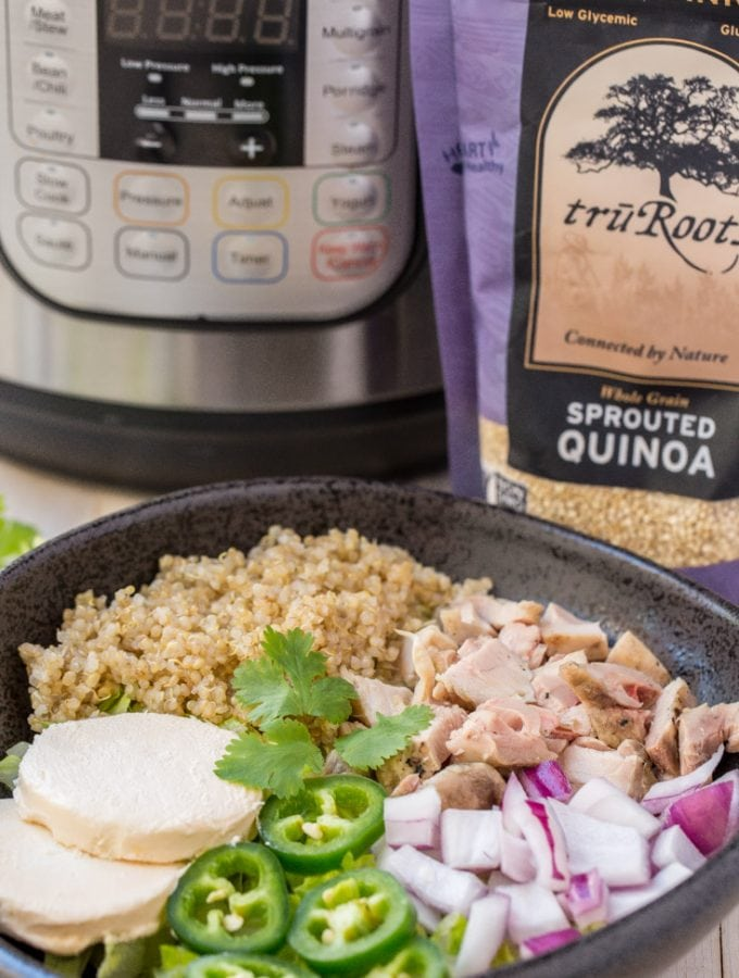how to make quinoa in an instant pot.