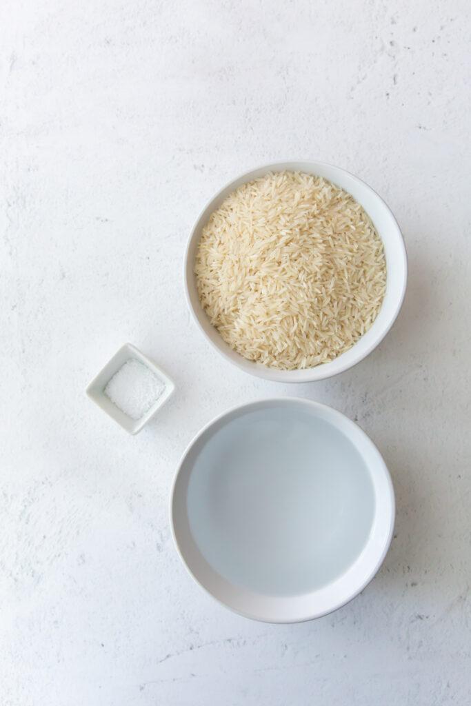 ingredients to make instant pot basmati rice