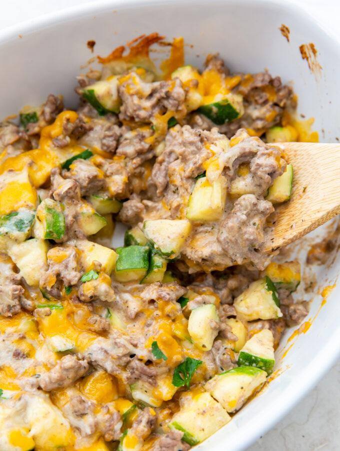 ground beef casserole featured image