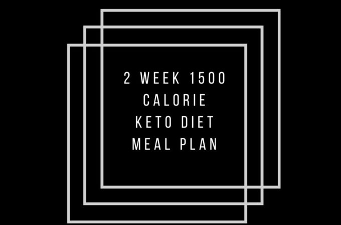 1500 kcals keto diet meal plans