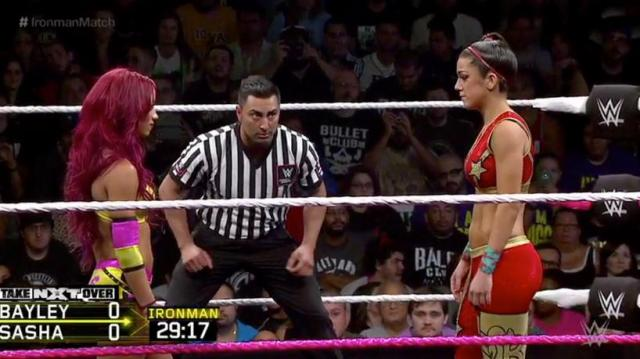 sasha vs bayley